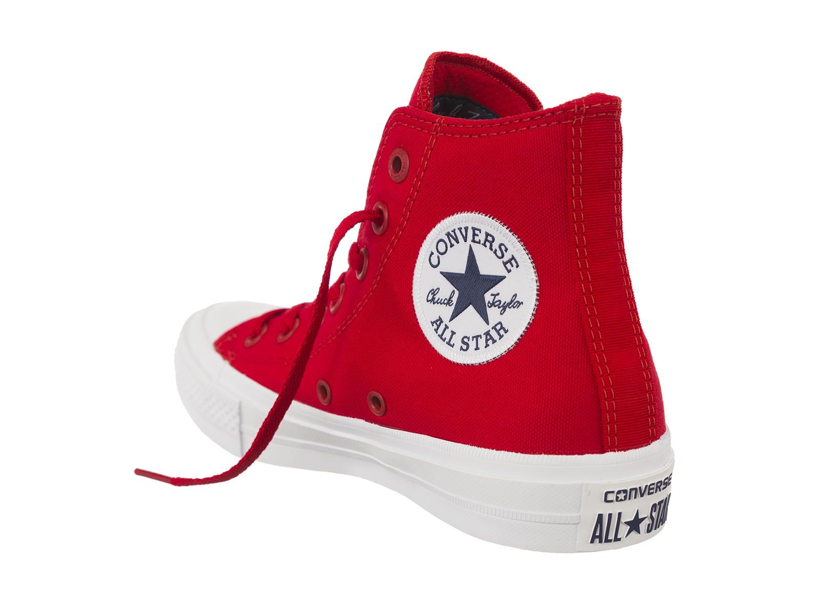 Converse Unisex Chuck Taylor All Star Sneakers Alti Scarpe Da Ginnastica Lacci