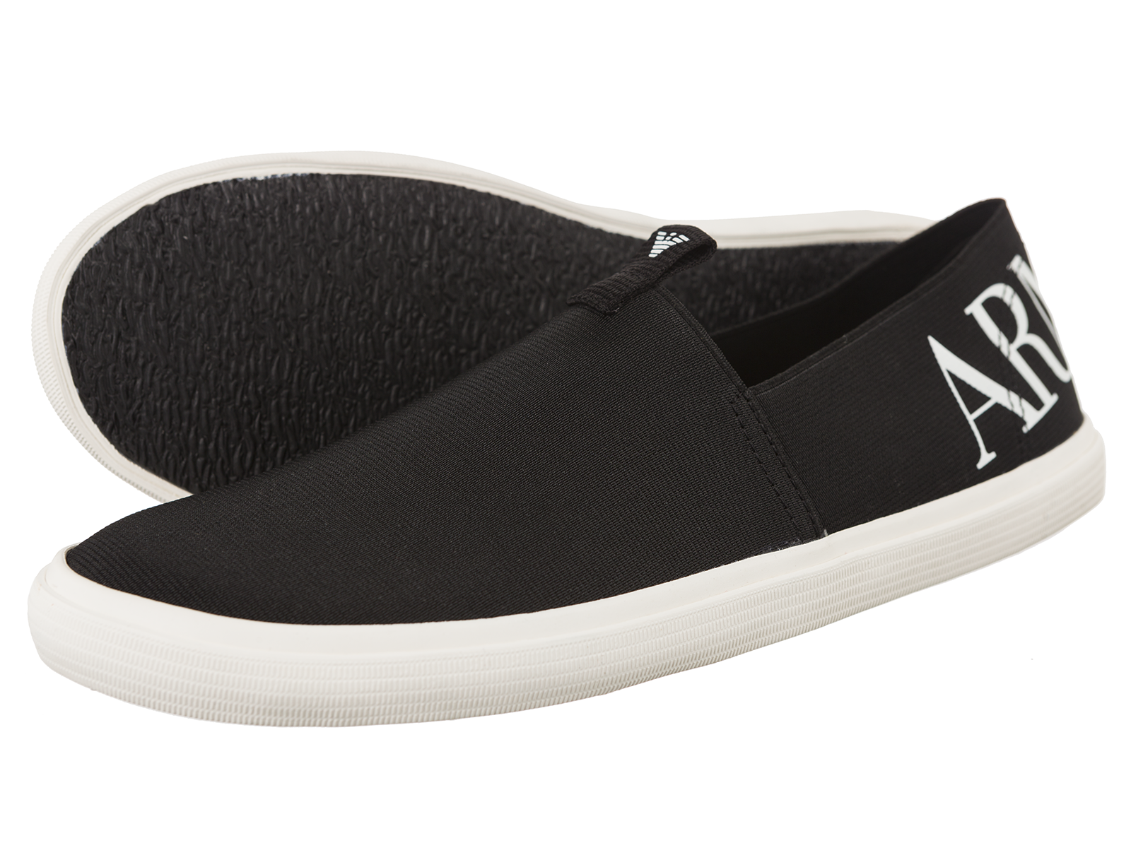 armani jeans herren halbschuhe slipper sneaker. Black Bedroom Furniture Sets. Home Design Ideas