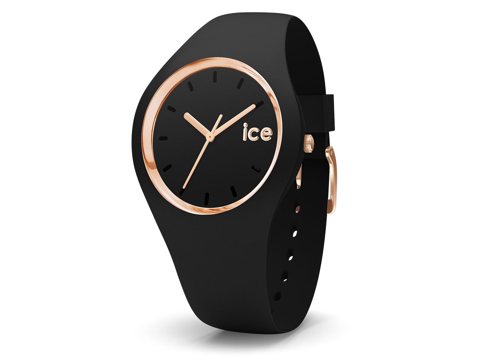 ice watch ice glam damen armbandenuhr silikonarmband. Black Bedroom Furniture Sets. Home Design Ideas