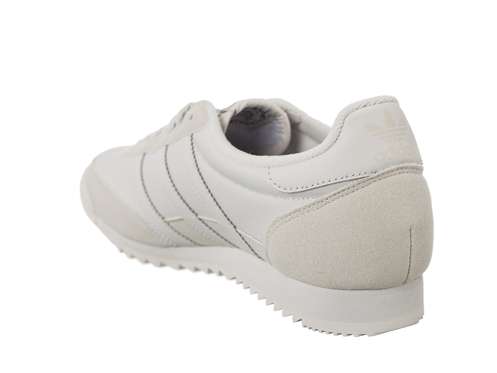 Chaussures Baskets adidas homme Dragon OG Grey One taille Gris Grise Cuir Lacets oOAi65slKx