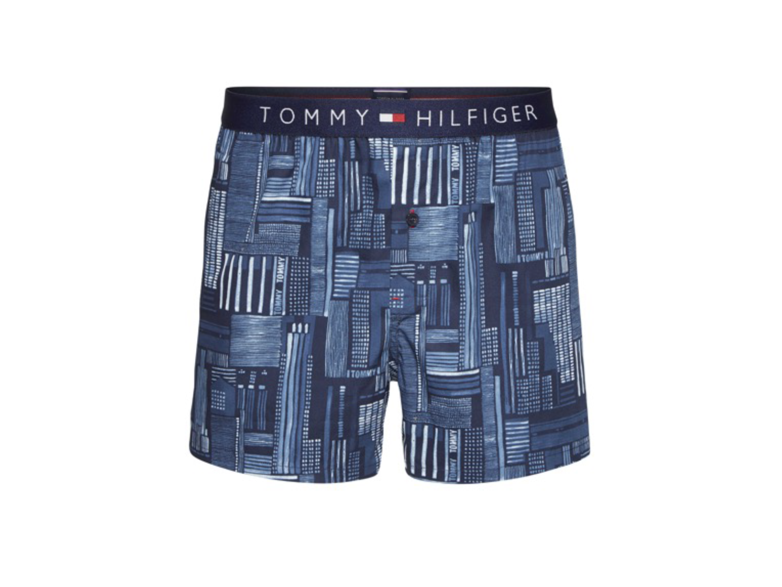 tommy hilfiger woven boxer 427 hommes cale ons lingerie coton sous v tement ebay. Black Bedroom Furniture Sets. Home Design Ideas