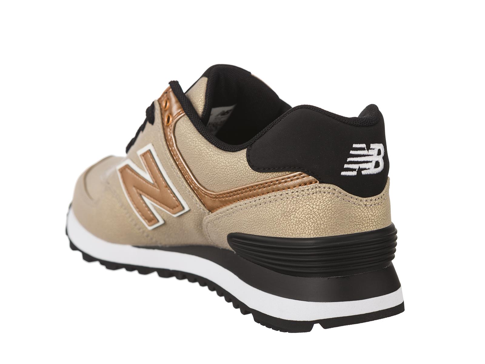 New Balance Donna WL574 Scarpe Da Ginnastica Stringate Suola Zigrinata Sneakers