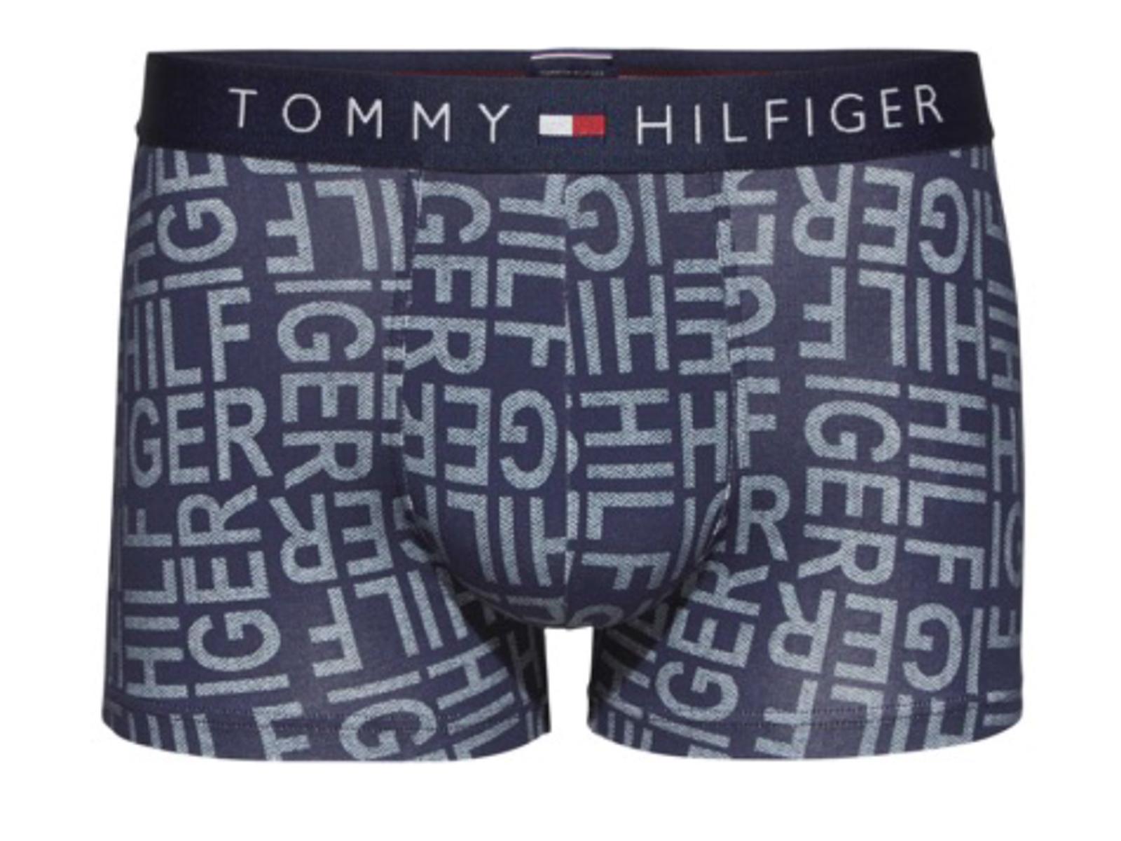 tommy hilfiger herren trunk logo herringbone boxershorts. Black Bedroom Furniture Sets. Home Design Ideas